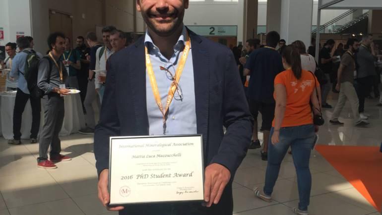 IMA Ph.D. Student Award to Mattia Mazzucchelli