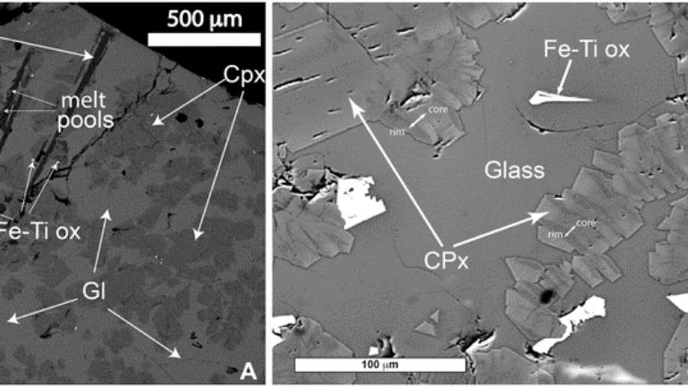 Viscosity experiments at superliquidus temperatures