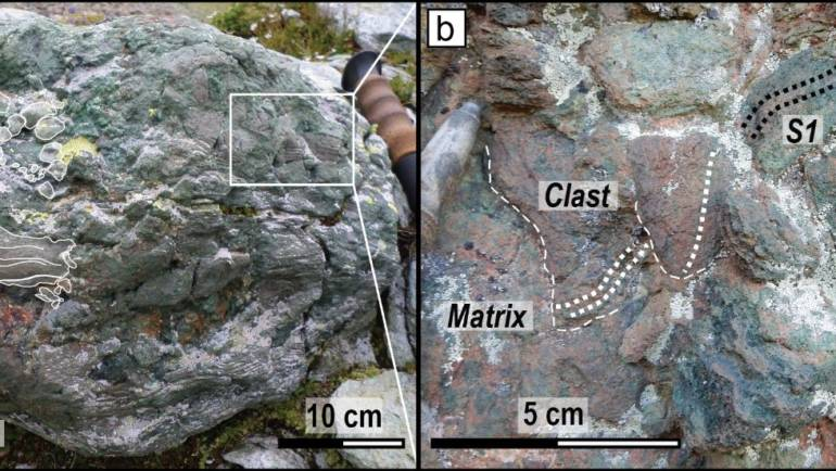 "Seminar: ""Eclogitic breccias from the Monviso metaophiolite: the unexpected witnesses of brittle deformation at 80 km depth"" by Michele Locatelli, UPMC"